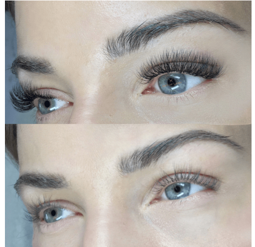 photo of volume eyelash extension fill by Art of Lash in Washington, DC