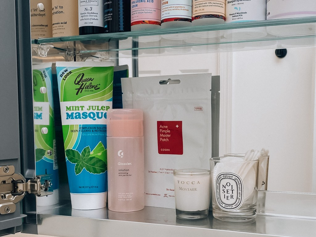 Skincare products - Queen Helene, Glossier, Cosrx