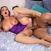 Neighbor assfucking Cali Carter in 'Baby's Gone Buck!'