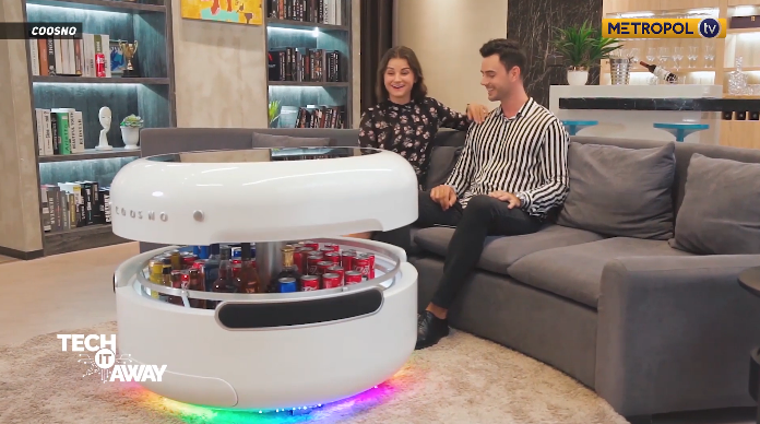 futuristic smart coffee table sells for