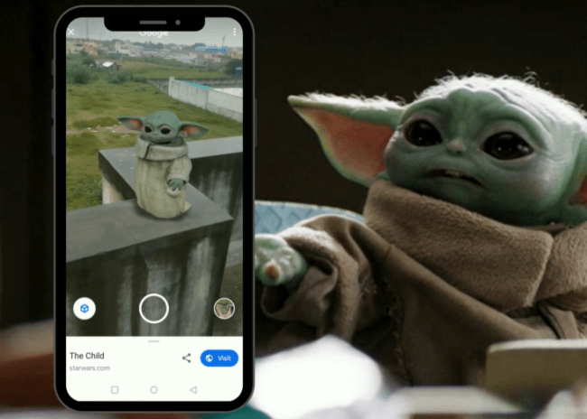 Baby Yoda 3D Google: How to Activate on Your Smartphone for AR Experience | Tech Times