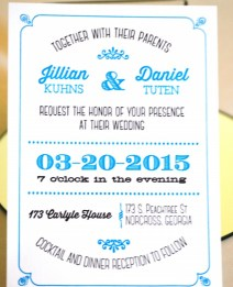 Congratulations Jillian & Dan! 173 Carlyle House Historic Downtown Norcross