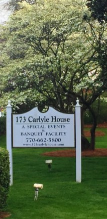 Congratulations Eh-den and Joe! 173 Carlyle House Historic Downtown Norcross