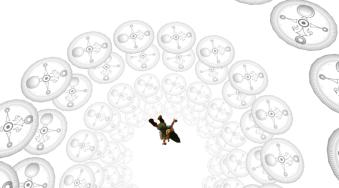 Link falling through time