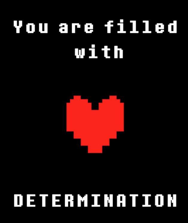 determination-in-undertale