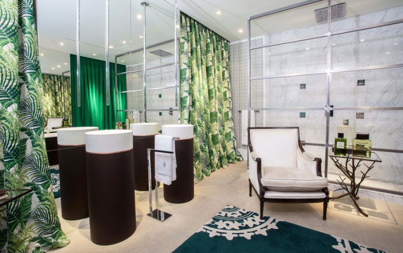 Villeroy & Boch en Casa Decor - Julian Gallego Jungle Bath5