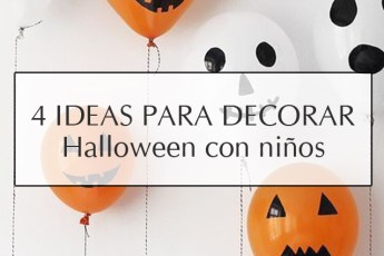 Ideas para decorar en halloween con niños