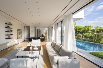 Home tour - LB House by Shachar Rozenfeld Architects, salón