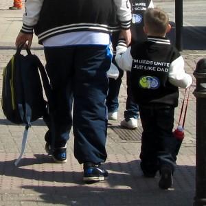 Leeds fans 20 Apr 2013