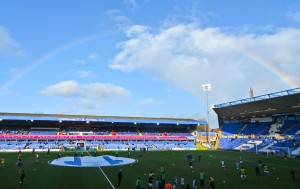 Rainbow over St Andrew's