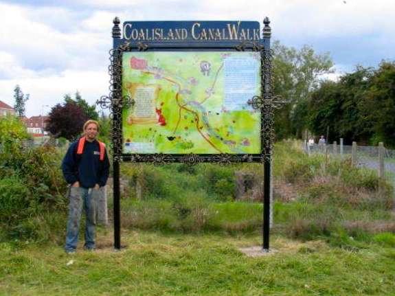 Coalisland Canal sign