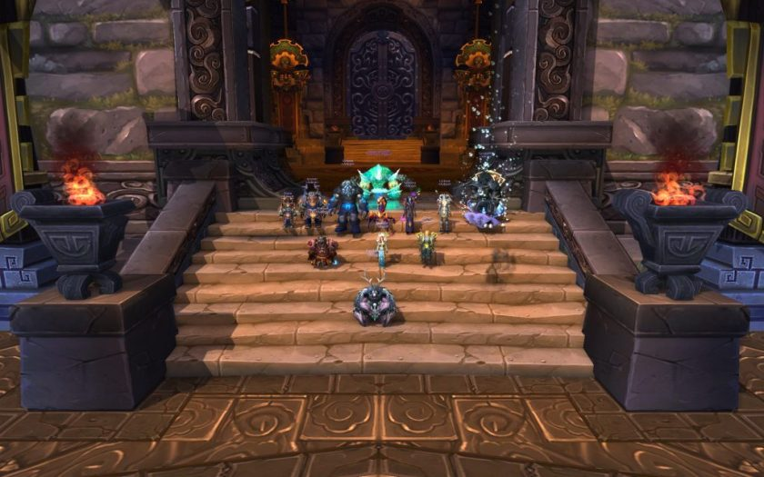 Iron Qon and Council of Elders Heroic killed by Red Squadron