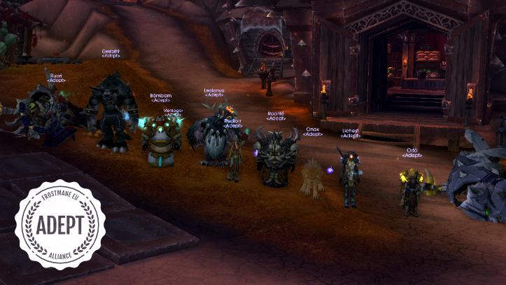 Heroic Dark Shamans kill by Adept's Red Squadron