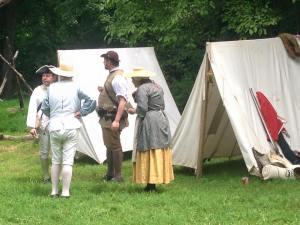 militia encampment