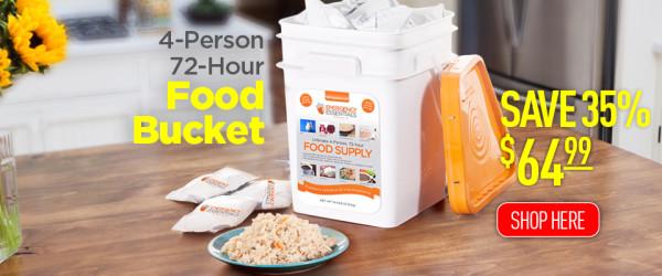 Food_Bucket, survival, SHTF, preparedness, prepper, food storage,