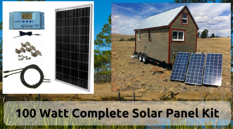 100-watt-complete-solar-panel-kit