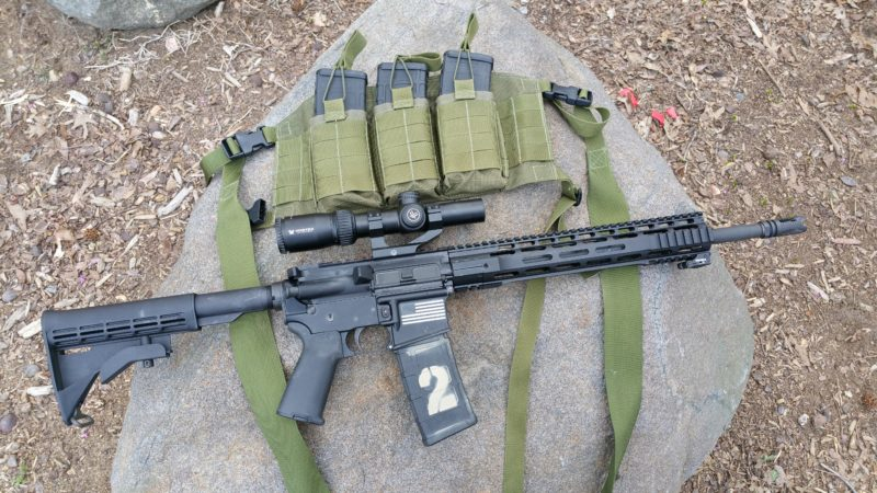AR-15, scope, battle rifle, preparedness, SHTF
