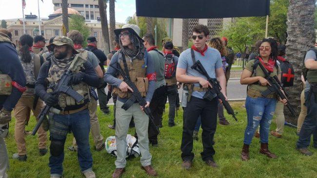 armed Liberals, Redneck Revolt, SHTF, civil war