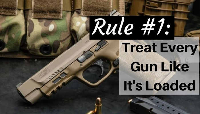 Gun Safety, safety, Rule, loaded, shooting, preparedness, SHTF, firearms
