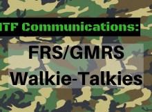 FRS, GMRS, SHTF, communications, prepper, preparedness,