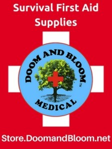 survival, medical, first aid, supplies, prepper, Doom and Bloom