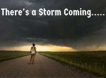 There's a storm coming, civil war, second revolution, SHTF, prepper, survival, preparedness, WROL, TEOTWAWKI, food storage, get ready