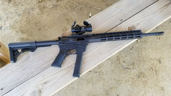FX-9, 9mm, carbine, Freedom Ordnance, AR-15, SHTF