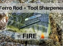 ferro rod, fire starting survival, prepper, preparedness, fire