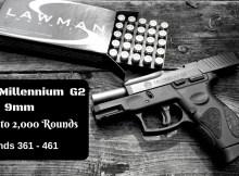 Taurus, G2, 9mm, pistol, preparedness, self defense,