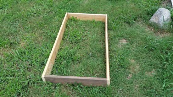 raised bed, gardening, survival gardening, SHTF,