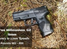 Taurus G2, 9mm, test, review, CWP,