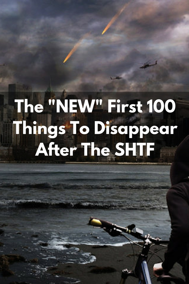 SHTF, prepper, preparedness, barter, SHTF, top 100 things to disappear,