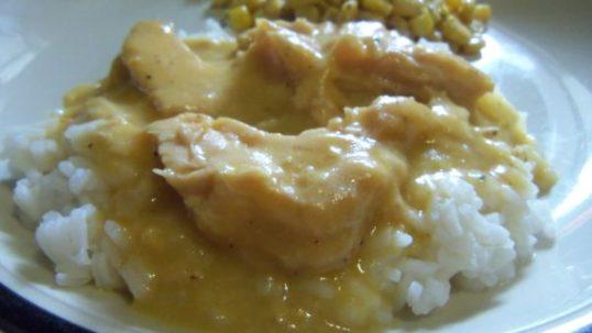 chicken gravy and rice, SHTF, prepper recipe,