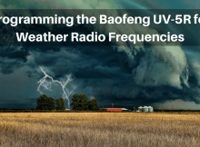 Baofeng radio, ham radio, weather radio, programming, shtf, prepper,