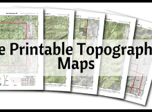 free, printable, topographical, topo, map, SHTF, prepper, preparedness, bugging out, bug out