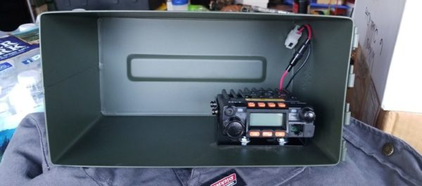 ammo can, hammo can, ham radio, 50 cal, shtf, commo, ham radio
