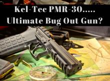 PMR-30, PMR30, bug out gun, Kel-Tec, Kel-Tec PMR-30, review, SHTF, prepper, preparedness