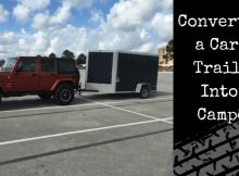cargo trailer conversion, bugging out, trailer, camper,