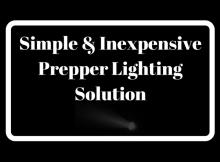 lighting, prepper, light, LED, USB, retreat, power, off grid, solution, budget, SHTF