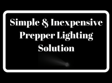 lighting, prepper, light, LED, USB, retreat, power, off grid, solution, budget, SHTF