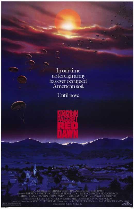Red Dawn, movie, survivalist, survival, preparedness, prepper, SHTF, Cold War