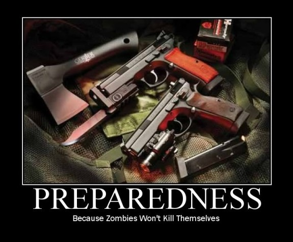 preparedness, zombie, freedom, survival, prepper, SHTF, guns