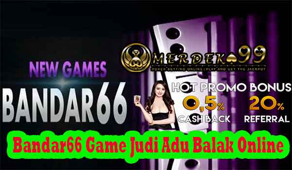 Bandar66 Game Judi Adu Balak Online