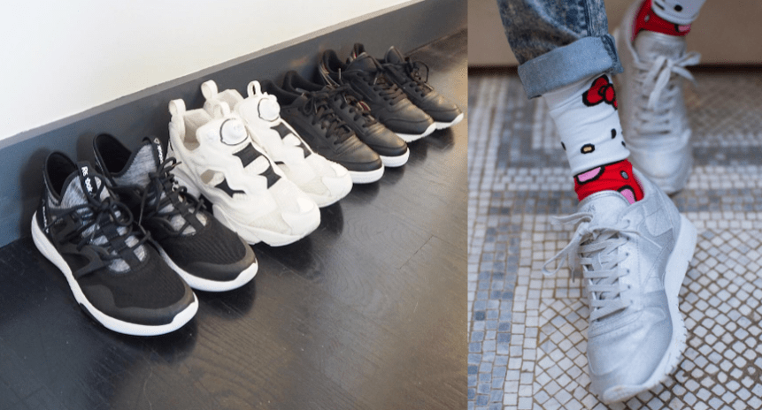sneakers collection - Kitty Cowell
