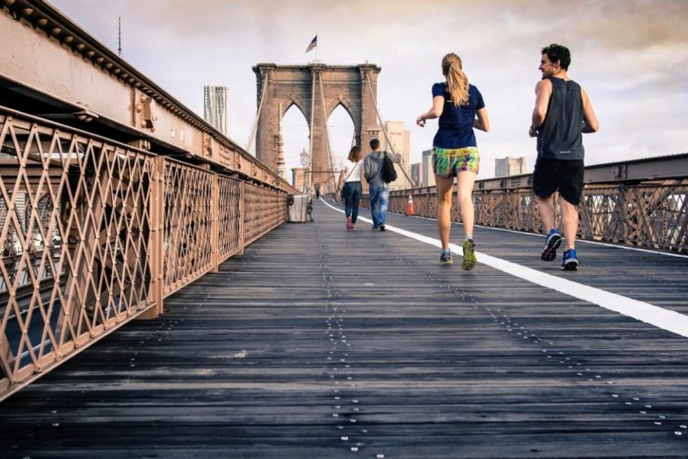 Couple Running - Healthy Sleeping Tips