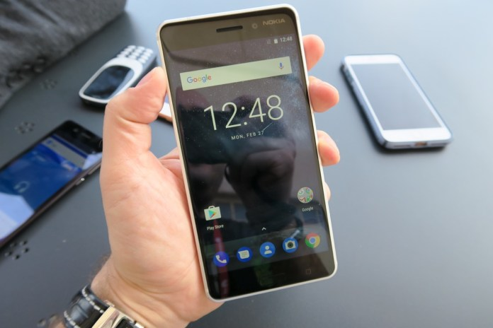 Image result for touch screen of nokia 6