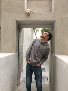 Kevin + Cat in Greece
