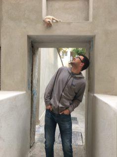 Kevin + Cat in Greece