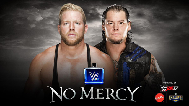 Image result for No mercy Baron Corbin vs. Jack Swagger