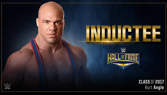 Image result for kurt angle hall of fame